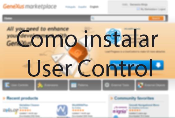 Instalação de User Controls